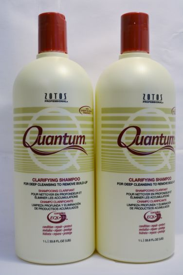 Quantum Clarifying Shampoo 33.8oz (2 pack) Total = 67.6oz