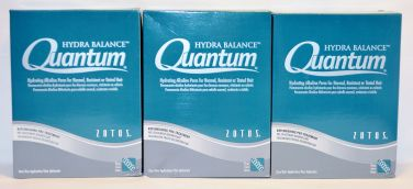 Quantum Hydra Balance Hydrating Alkaline Perm for Normal, Resistant or Tinted Hair (3 pack)