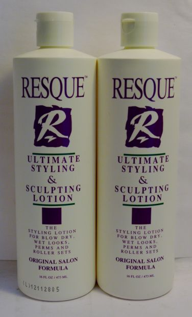 Resque Ultimate Styling & Sculpting Lotion 16oz (2 pack) Total = 32oz