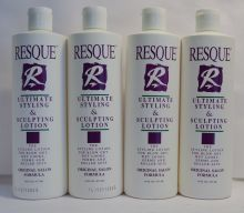 Resque Ultimate Styling & Sculpting Lotion 16oz (4 pack) Total = 64oz