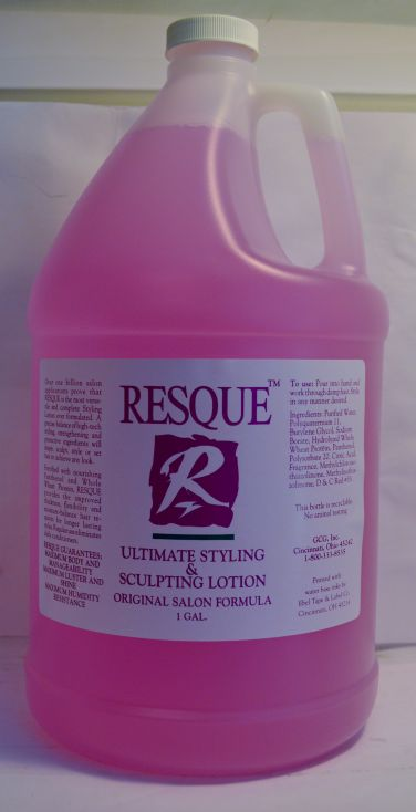 Resque Ultimate Styling & Sculpting Lotion Gallon/128oz
