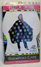 "Betty Daine Shampoo Cape ""Shoe Envy"" #148"