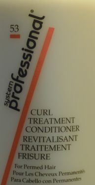 Wella System Professional Curl Treatment Conditioner 8.5 oz