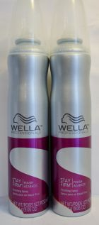Wella Stay Firm Finishing Spray 9.06oz (2 pack)