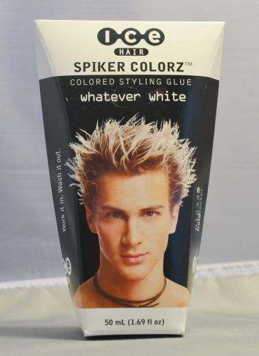 Joico ICE Hair - Spiker Colorz - Colored Styling Glue - Whatever White 1.7oz
